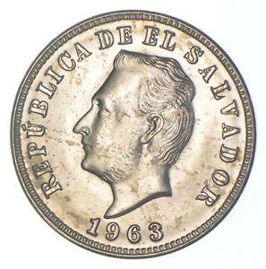 Better Date - 1963 El Salvador 5 Centavos *293