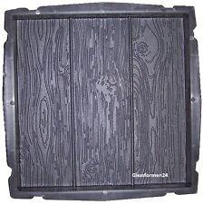 2 Schalungsformen, Beton Formen Gehwegplatte Platten Holz Holzoptik 40x40 TOP !