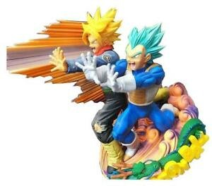 Figure Dragonball Super Master Stars Diorama Vegeta & Trunks The Brush Statue #1
