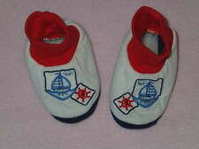 Pipiniko Cute Little Boys Ship Bootees, Size 5/ 15-18 Months