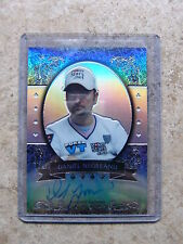 2011 Leaf Razor Poker Metal Base Auto Prismatic Parallel DANIEL NEGREANU /10