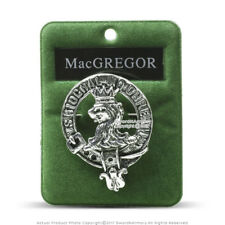 Clan MacGregor Scottish Crest Badge Brooch Pin for Clothes Costume Gift Souvenir