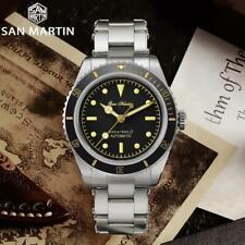 San Martin Diver Watch Sapphire NH35 Men Automatic Mechanical Watch 20Bar Water