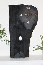 Wall Clock Bog Oak Handemade