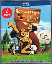BOOG & ELLIOT 1 E 2  BOX 3 BLU RAY F.C. SIGILLATO!!!