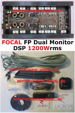 ► HIGH END ► FOCAL FP Dual Monitor DSP 1200W Amplifier 1 or 2 Channel 2Ω 4Ω Mono