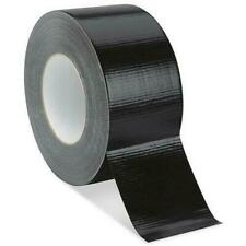 Black Waterproof Duct Tape 48mm x 50M Roll Heavy Duty Strong Duct Gaffer Tape