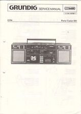 Grundig-PARTY CENTER 800 - 12/86 - Service Manual grafico-b3140