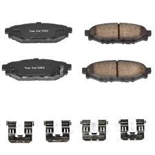 Power Stop 17-1808 Rear Z17 Evolution Clean Ride Ceramic Brake Pad with Hardware