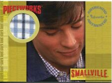 Smallville Season 2 Pieceworks Card Pw1 Tom Welling as Clarke Kent