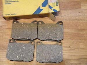 GDB577 New Front Brake Pads Girling Chrylser 160 160GT 180 2 Litre 1972-