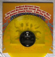 BEATLES -Magical Mystery Tour- Rare Original UK Yellow Vinyl Export LP Record