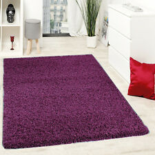LARGE SMALL THICK PLAIN SHAGGY RUGS BED ROOM HOME DECOR MATS CARPETS NEW