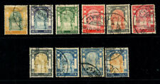 Thailand  1905  King RamaV   Wat Jang Issue  10  used  Stamps
