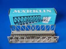 MARKLIN H0 - 7162 - LATTICE-GIRDER BRIDGE - M Track (89) / BOX - EXC