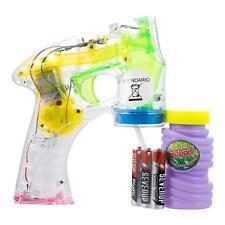 4 x LED Seifenblasenpistole inkl. Seifenblasenflüssigkeit und Batterien