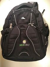XBOX 360 High Sierra Backpack Console Carrying Case Padded Suspension System NM