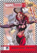 #121 MADELYNE PRYOR (2018) 2017 Upper Deck Marvel Annual SP SHORT PRINT X-MEN