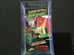 Mars Attacks Full Set Of 72 Widevision Trading Cards - Base Set 1996