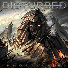 DISTURBED - IMMORTALIZED - NEW DELUXE CD ALBUM