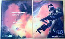 "Halo 2 Poster Ad Print 10"" X 15"" X-Box"