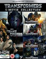 Transformers 1-5 Collection Film (5 Films) 4K Ultra HD Neuf 4K UHD (8313954)