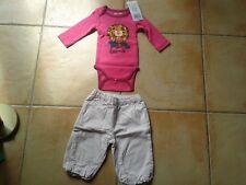 Lot body DPam pantalon Obaïbi 3 mois