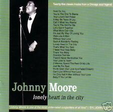 JOHNNY MOORE - Lonely Heart in the City - Great Soul CD