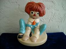 Twin Winton Raggedy Andy Cookie Jar Lid Only