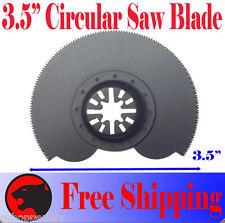 "3.5"" Circular Cut Oscillating Multi Tool Saw Blade For Fein Multimaster Bosch"