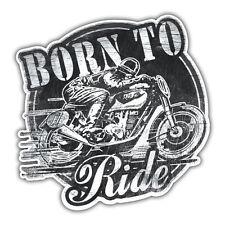Born to Ride Adesivo, Moto 85mm Cafe Racer