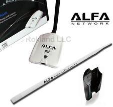 ALFA AWUS036NHR v2 USB Wireless Wi-Fi Adapter +white 9 dBi antenna kit ARS-N19W