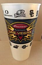 2005 Pioneer PureVision Las Vegas Bowl Plastic Cup - Cal vs. BYU  (4875)