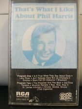 THAT'S WHAT I LIKE ABOUT PHIL HARRIS, CASSETTE, 1988