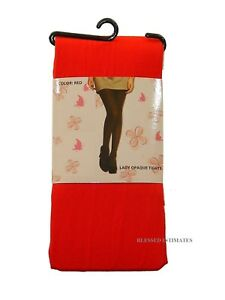 NEW WOMEN LADY OPAQUE TIGHTS FOOTED PANTYHOSE 70D UNDERWEAR REG N QUEEN SIZE