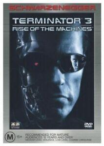 Terminator 3 DVD Arnold Schwarzenegger - Rise Of The Machines Region 4 Australia