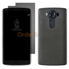 NEW Soft Ultra Slim Case+LCD HD Screen Protector for Android Phone LG V10 Clear