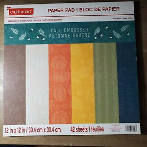 Fall 41 Sheet Paper Pad by Craftsmart