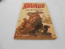 DOC SAVAGE NUMERO 64 : L'îLE DE L'ANGOISSE EDIT MARABOUT POCKET