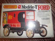 Maquette FORD T 1923 Fourgonnette Kit AMT / Matchbox 1/25 1960