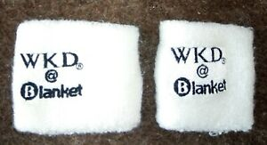 WKD @ Blanket Sweat Wrist Bands