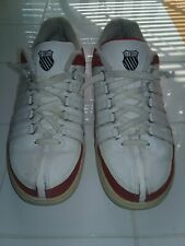 K SWISS White Womens  Upper Leather Shoes Size 7 1/2