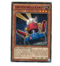 CARTA YU GI OH - TRUPPA DELLA CARTA - BP01-IT143 - IN IT - FOIL - RARA