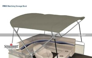 Summerset 4 Bow Bimini Replacement Top, Canvas Only - 96'L x 97'-103'W | Khaki