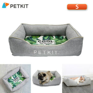 Dog Bed with Removable Washable Cover/Nonskid Bottom/Memory Foam S7E7
