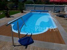 Gfk Schwimmbecken 8,50x3,70x1,55 Swimming Pool Zubehör Einbaubecken SET SUPER
