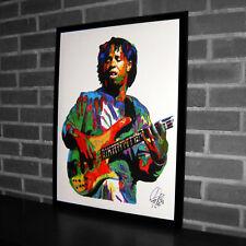 Victor Wooten American Bass Funk Rock Hip Hop Music Print Poster Wall Art 18x24