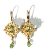 Paul Morelli 18kt Yellow Gold Peridot Earrings
