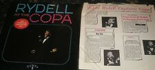 BOBBY RYDELL LIVE AT THE COPA LP USA CAMEO PROMO C1011 ORIG INNER SLEEVE N.MINT