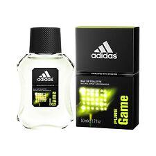 Adidas Eau de Toilette Spray for Men, Pure Game, 100 ml / 3.4 fl. oz.